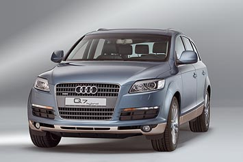 Electric Car Audi Q7 Hybrid