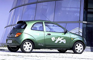 Electric car Ford e-Ka