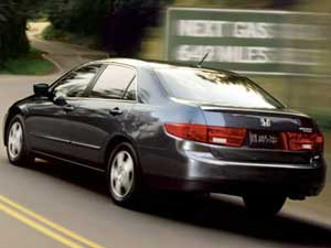 Electric Car Honda Accord Hybrid