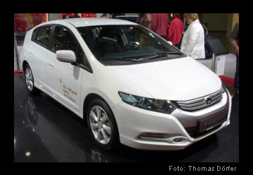 Electric car Honda Insight